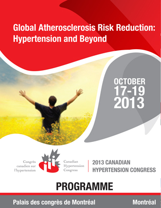2013 Canadian Hypertension Congress Program