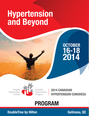 2014 Canadian Hypertension Congress Program