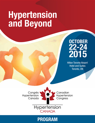 2015 Canadian Hypertension Congress Program