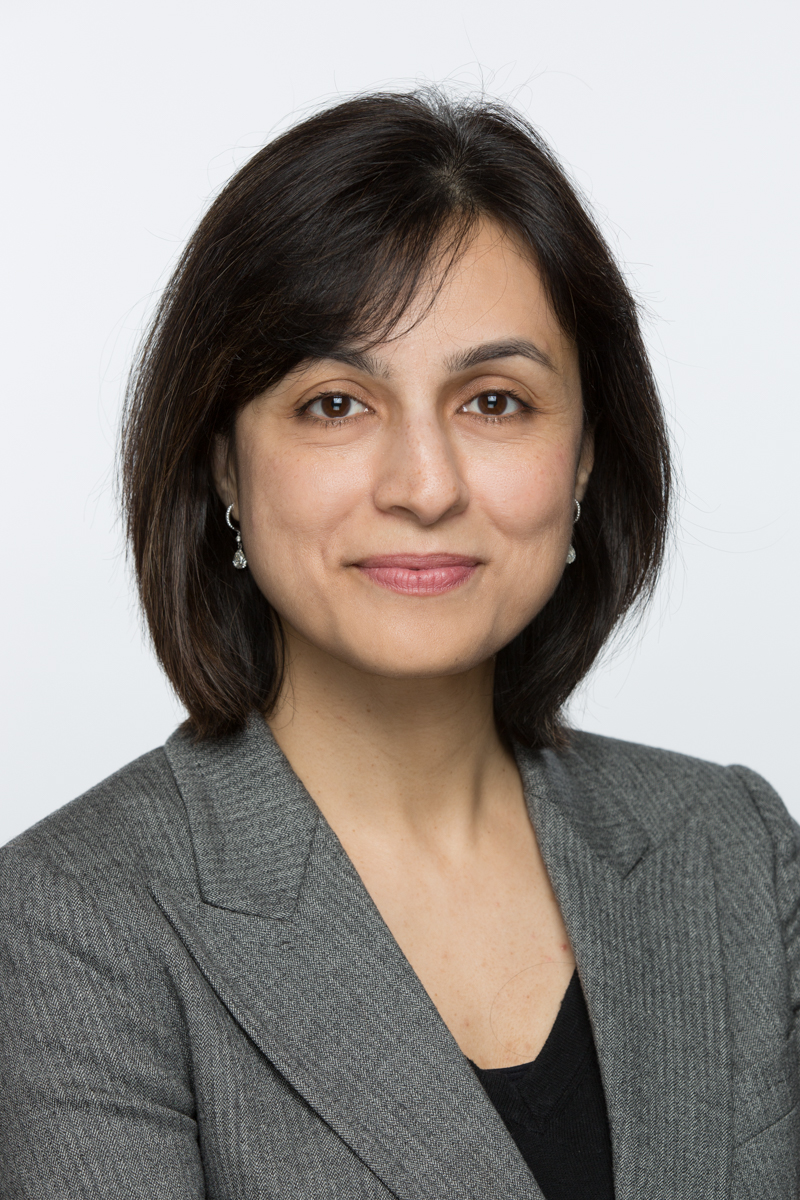 President and Chair of the Board. Doctor Nadia Khan.